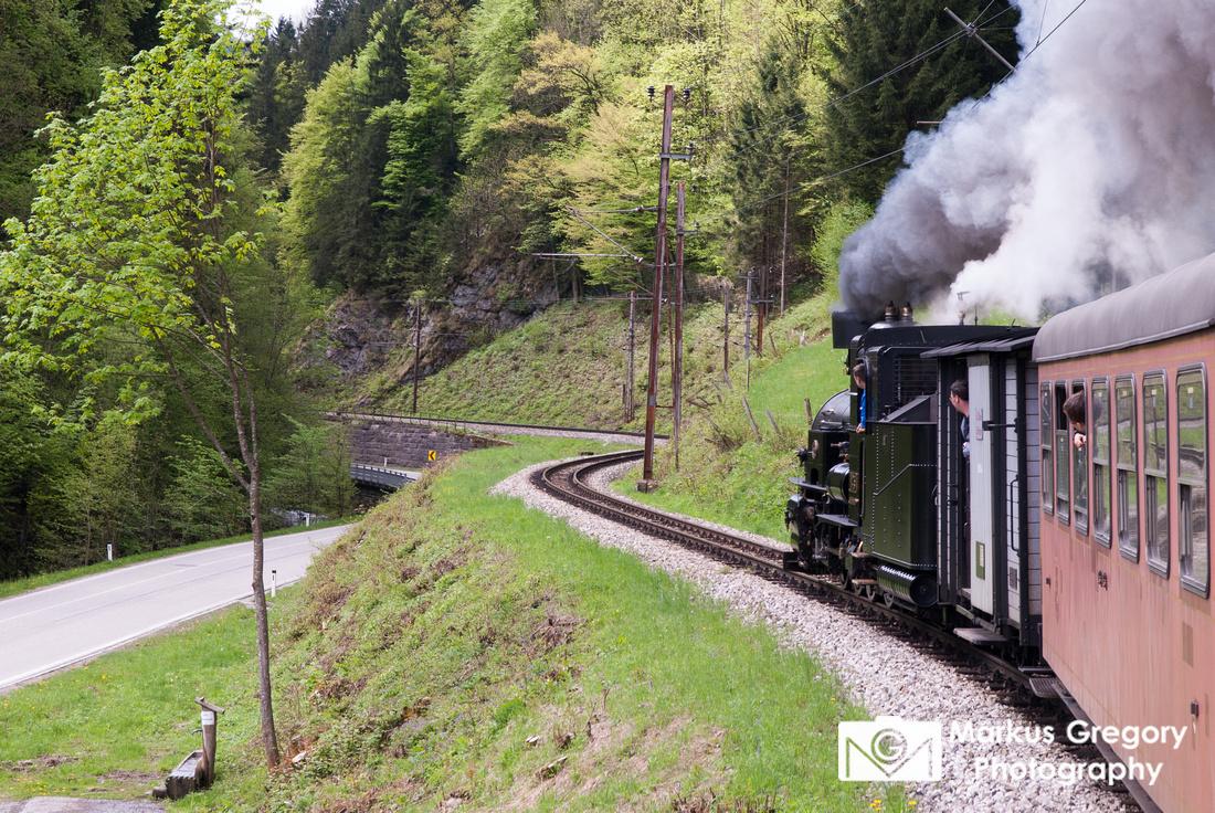 Mariazellerbahn - Narrow Valley - narrow gauge