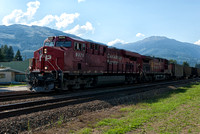 Canadian Pacific train at Revelstoke