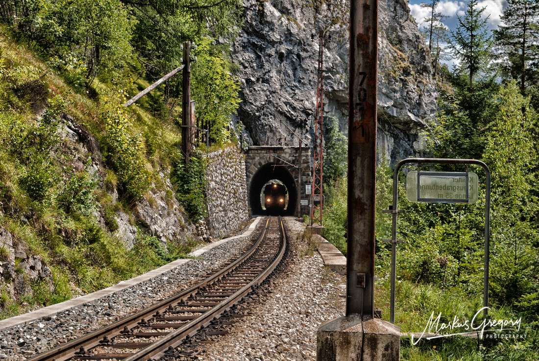 Növog 5090 U in the Reithmauertunnel near Annaberg