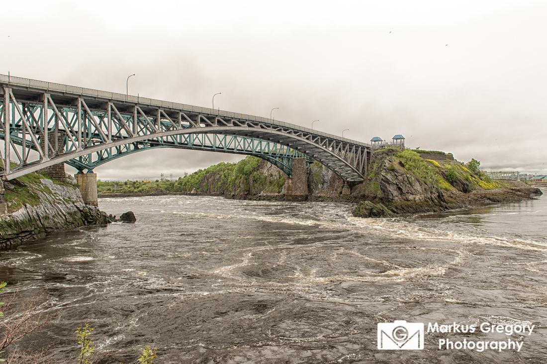 Reversing Falls Saint John River
