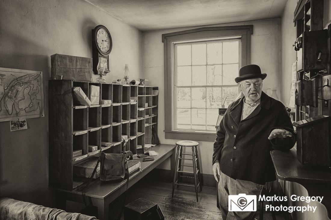 Sherbrooke Village Post Office