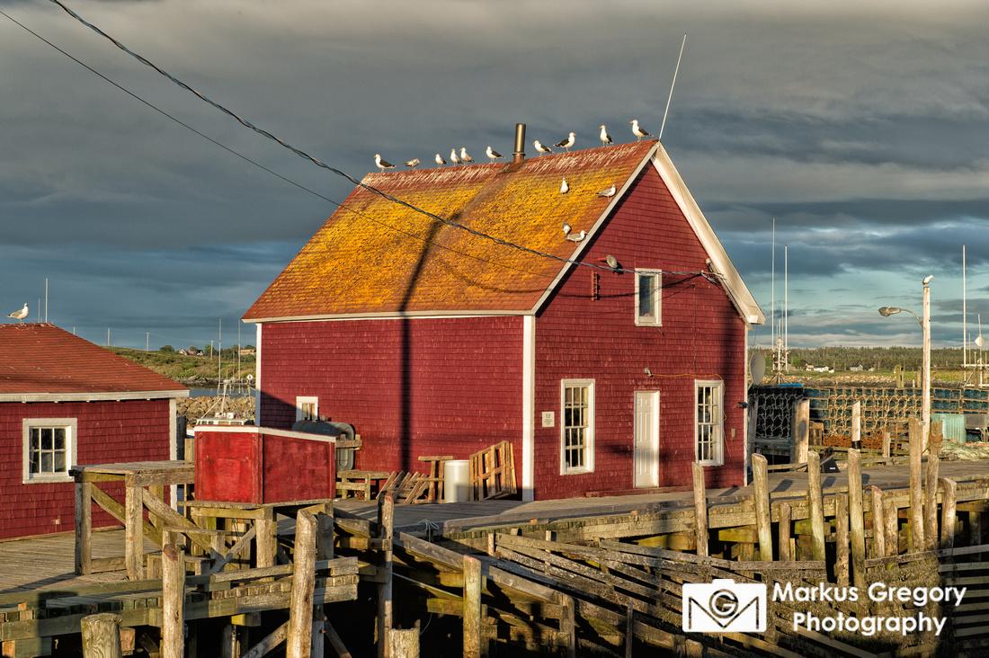 Sundown at Cape Forchu, Nova Scotia