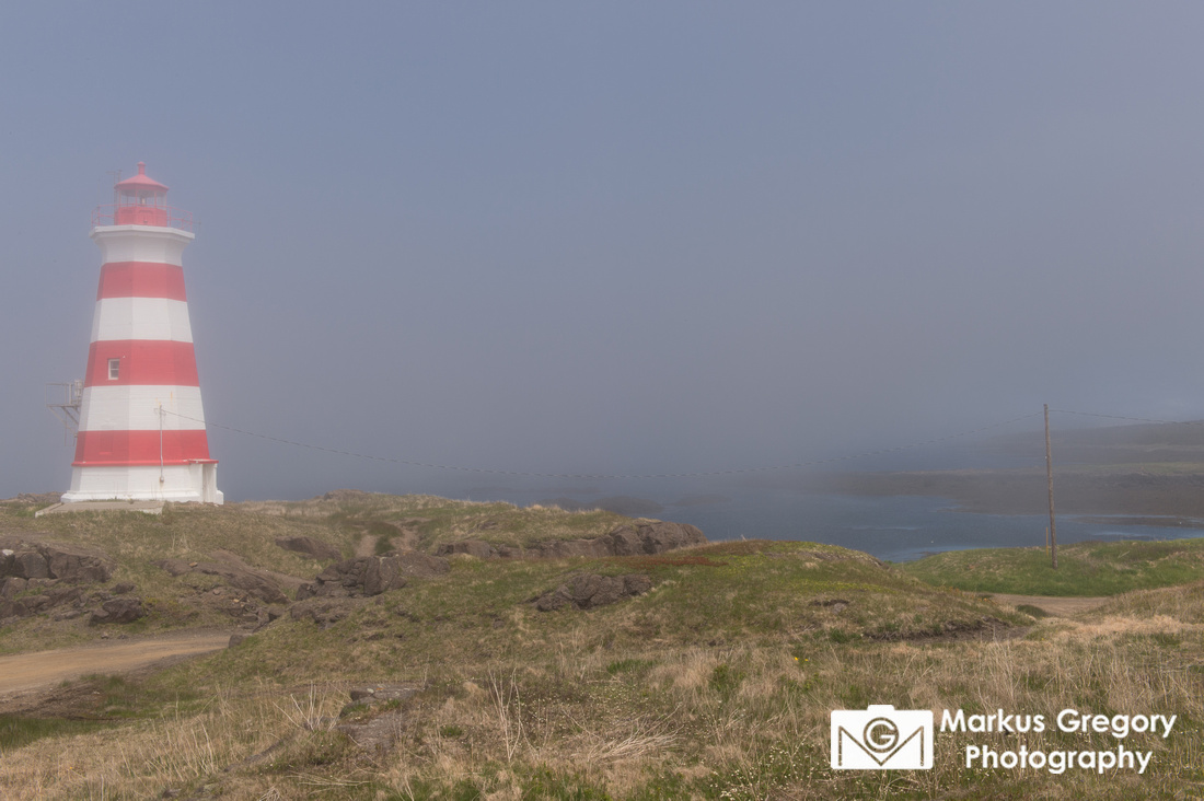 Western Brier Island Lighthouse.