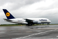 Airbus A380 in Vienna